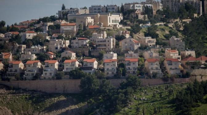 Is Israeli housing endangering the peace process?
